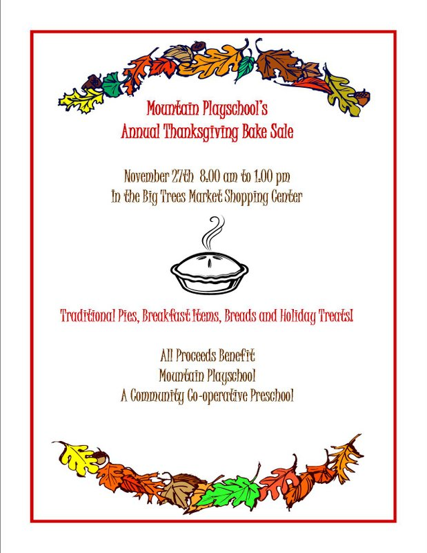bake sale flyer template word doc Success