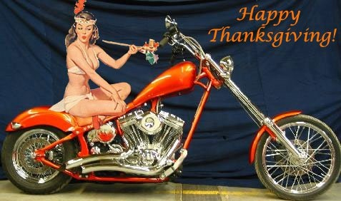 Image result for thanksgiving motorcycle pictures