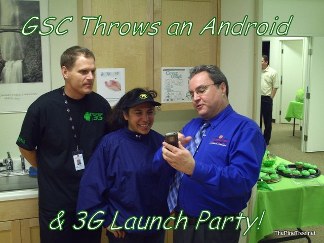 GSC Android Launch Party