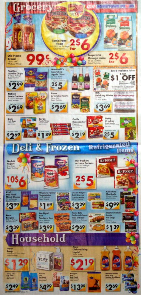 Big Trees Market's Weekly Ad for December 29, 2010 - January 4, 2011