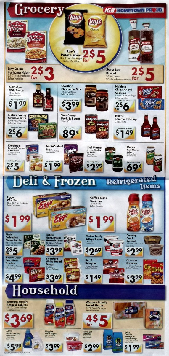 Big Trees Market's Weekly Ad for March 3rd, 2011
