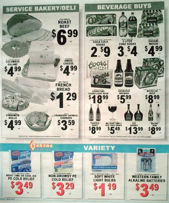 Big Trees Market Weekly Ad for February 28- March 6
