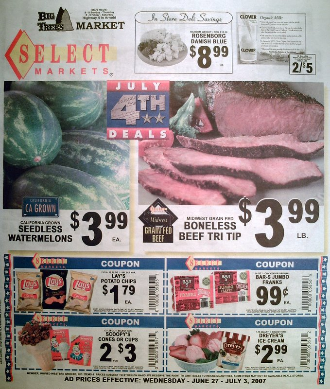 Big Trees Market Weekly Ad for June 27-July 3