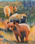 """Meadow Trio"" by Nancy Macomber"