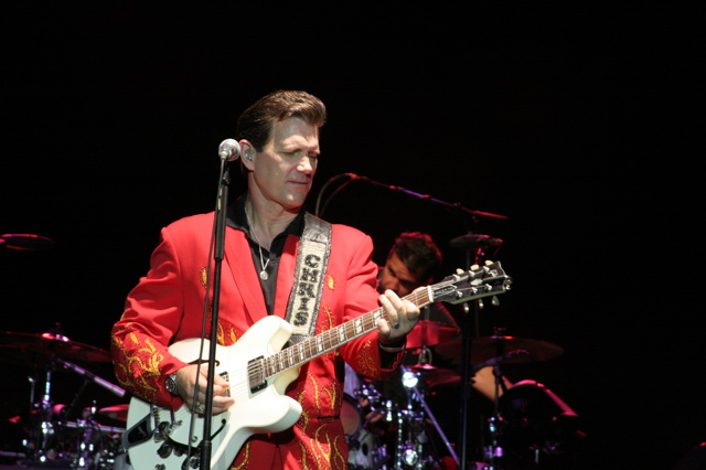 Chris Isaak and Boz Scaggs Concert