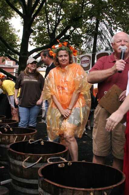 Grape Stomp 2008