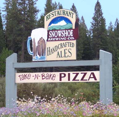 Snowshoe Brewing Company 209.795.2272